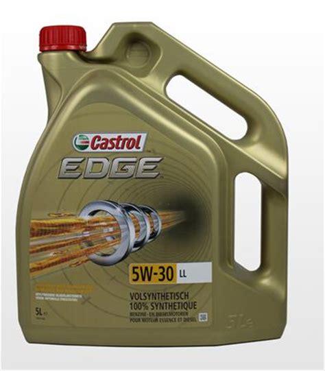 castrol 15669e edge motoröl titanium fst 5w 30 ll 5l motorolje castrol edge 5w30 longlife 5 ltr www billigbilpleie no