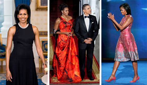 Michelle Obama First in Fashion - The New York Times