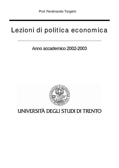 politica economica dispense dispense politica economica by pablo arturo di lorenzo issuu