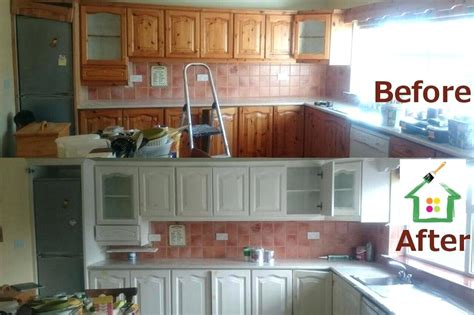 spray paint kitchen cabinets cost cost to paint cabinet doors before after kitchen painting