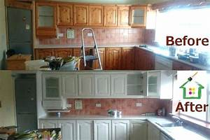 professionally painted kitchen cabinets 1036