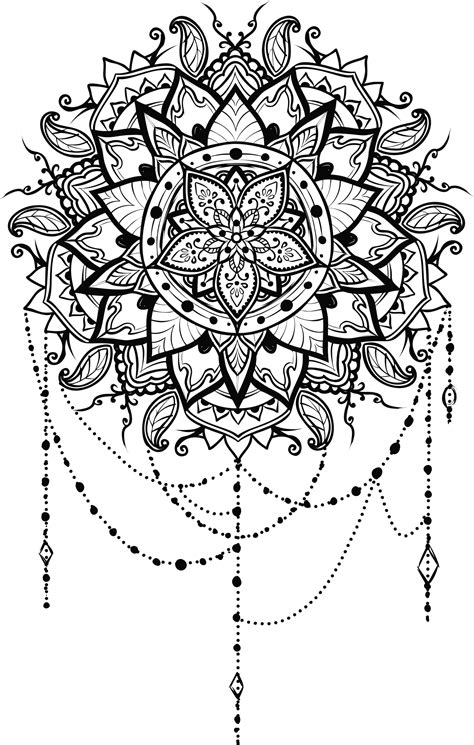 Mandala clipart small, Mandala small Transparent FREE for