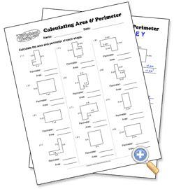 calculating area perimeter choose your parameters