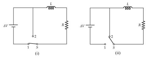 Solved Battery Inductor Resistor Are
