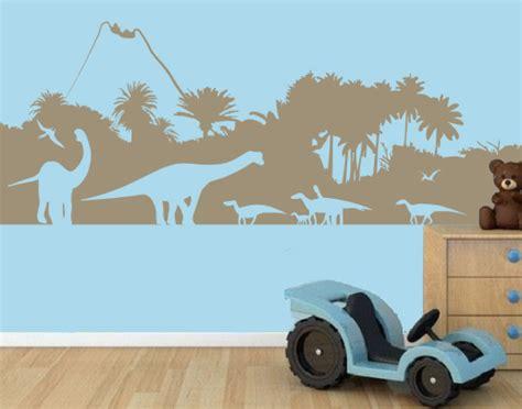 Wandtattoo Kinderzimmer Dinosaurier by Wandtattoo Dinosaurier Wald F 252 Rs Kinderzimmer Bestellen