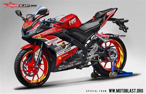 Gambar Hd Desain Sticker 3d Motor Cbr by India Bound Yamaha R15 V3 Rendered With Racing Decals