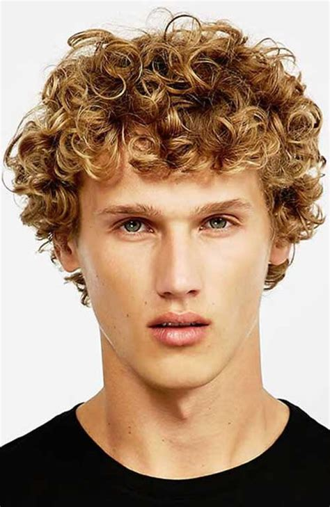 different hairstyle ideas for men with curly hair mens