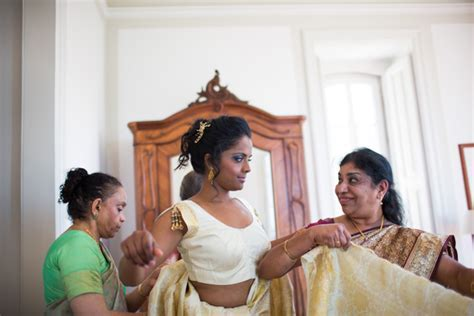 Majestic Indian Wedding In A Palace In Portugal   Bridal