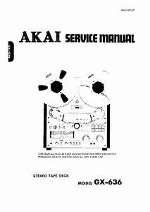 Manual Akai 4000ds