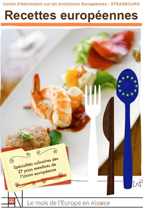 livre recette cuisine un livre gratuit à télécharger pour un tour d 39 europe de la