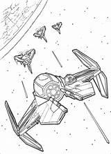 Coloring Windu Mace Wars Star Pages Getdrawings sketch template