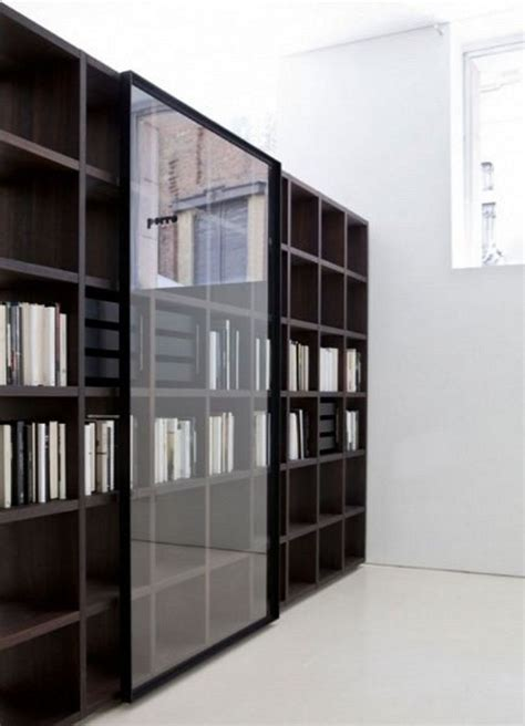 modular bookcases with doors modern bookcase with glass door mesmerizing bookcase