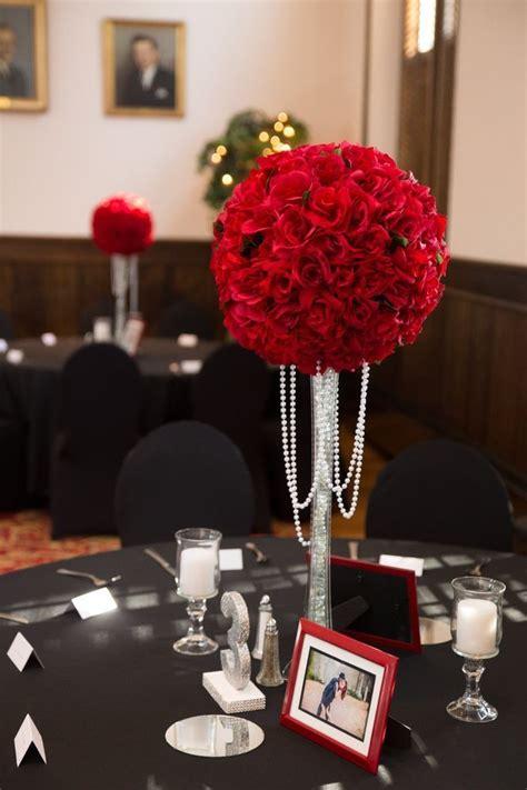 8 wedding centerpiece xl velvet red rose kissing balls