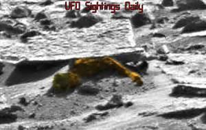 UFO SIGHTINGS DAILY: Alien Body Found Intact On Mars Near ...
