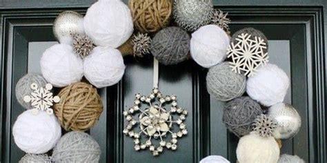 Decorazioni Natalizie Porta Ingresso Idee Natale 2014 Come Decorare La Porta Designbuzz It