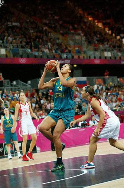 Games Basketball Animated Gifs Dunking Liz Cambage