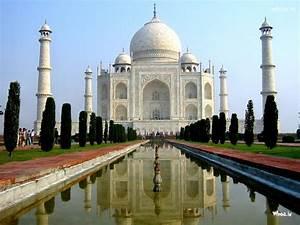 Taj Mahal Seven Wonders Of The World HD Wallpaper