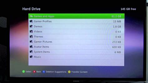 Xbox 360 How To Delete A Gamer Profile Youtube