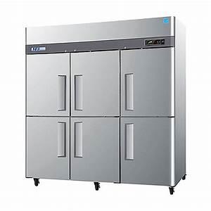Turbo Air M3f72-6 78 U0026quot  M3 Series Six Half Door Reach In Freezer