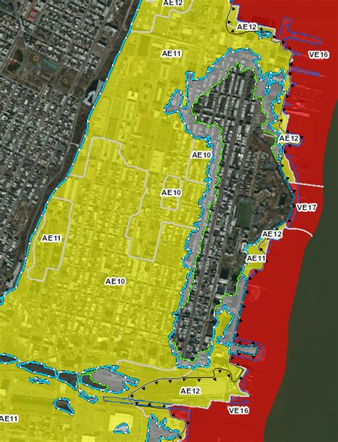 Dramatic Downgrade For Fema Flood Maps But 75 Of Hoboken