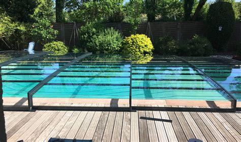 abri piscine semi plat mod 232 les t 233 lescopiques coulissants