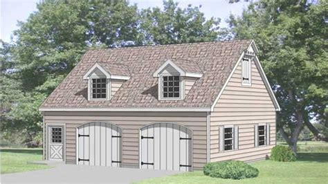 Plan 2 Car Garage With Loft 2 Car Garage Plans With Bonus