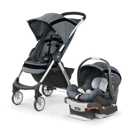 Mini Chicco by Chicco Mini Bravo Sport Travel System Carbon Walmart