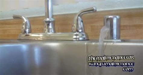 how to stop a dripping sink how to stop dishwasher leaking water from sink counter top