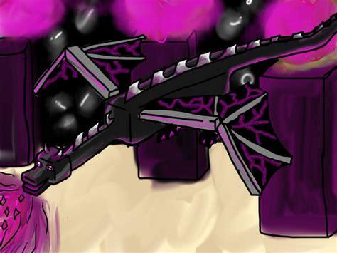 Minecraft Ender Dragon By Speedartstudio On Deviantart
