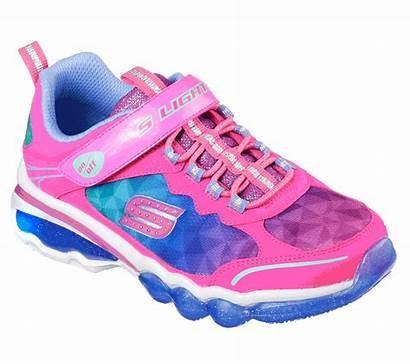 Lights Skechers Shoes Pink Neon