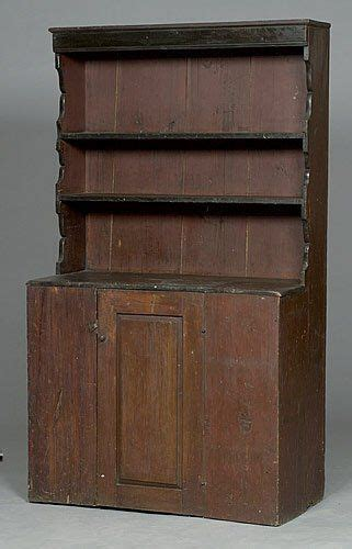 Pewter Cupboard by Early New Pewter Cupboard Pine With Open