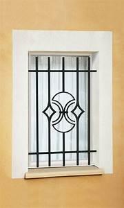 Grille De Protection Fenêtre : le ferronnier grille de fen tre en fer forg natanel ~ Dailycaller-alerts.com Idées de Décoration