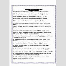 General Knowledge  Esl Worksheet By Htarrad