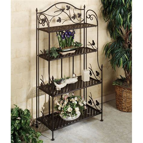Plant Etagere Outdoor by Songbird Symphony Indoor Outdoor Etagere Indoor Outdoor