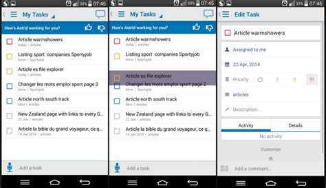 best task manager for android astrid tasks an excellent tasks manager app for android