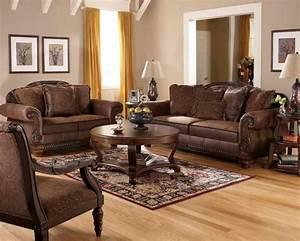dark brown living room tables modern house With dark brown furniture in living room