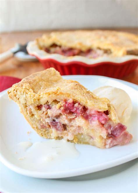best 20 rhubarb pie ideas on rubarb pie