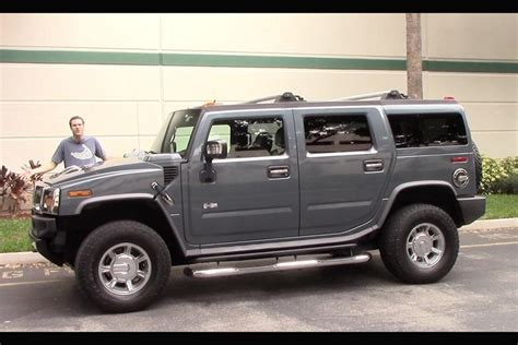 The Hummer H2 Is The Most Embarrassing Car You Can Buy