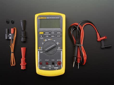 fluke 87v multimeter 87 industrial dc 1000v digital 10a adafruit handheld 2610 keithley electronics palmare multimetro digitale