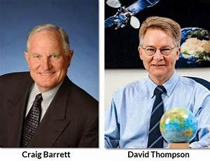 Craig Barrett and David Thompson Elected Board Chair and ...