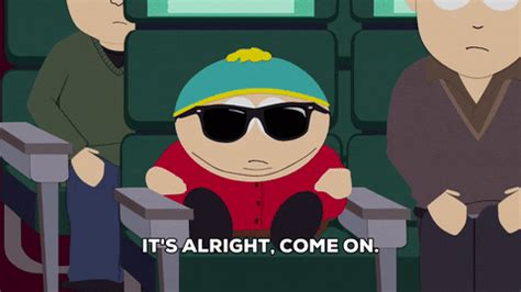 Mike clattenburg, the creator of trailer park boys, and mike smith, who portrays. Eric Cartman Sunglasses GIF by South Park - Find & Share ...