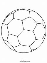Soccer Ball Coloring Pages Football Nike Drawing Balls Sports Easy Getdrawings Getcoloringpages Cool Coloringpage Eu sketch template