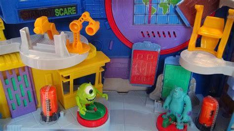 scare floor imaginext monsters university disney pixar