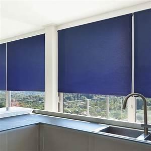 Innenrollos Für Fenster : fenster rollos mini daylight marineblau ~ Markanthonyermac.com Haus und Dekorationen