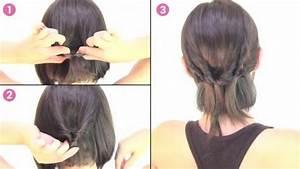 Tuto Coiffure Cheveux Court : une coiffure chic sur cheveux courts en quelques secondes ~ Melissatoandfro.com Idées de Décoration