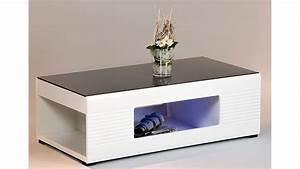 Couchtisch Weiß Schwarz Hochglanz : couchtisch panda in wei hochglanz glas schwarz 120x63 cm ~ Bigdaddyawards.com Haus und Dekorationen