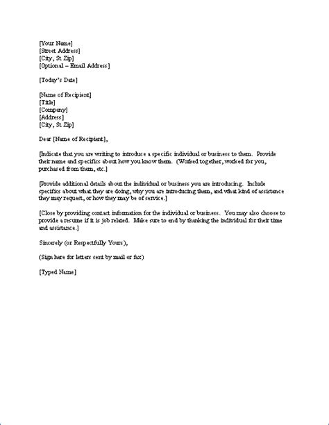 sales introduction letter write  introduction letter