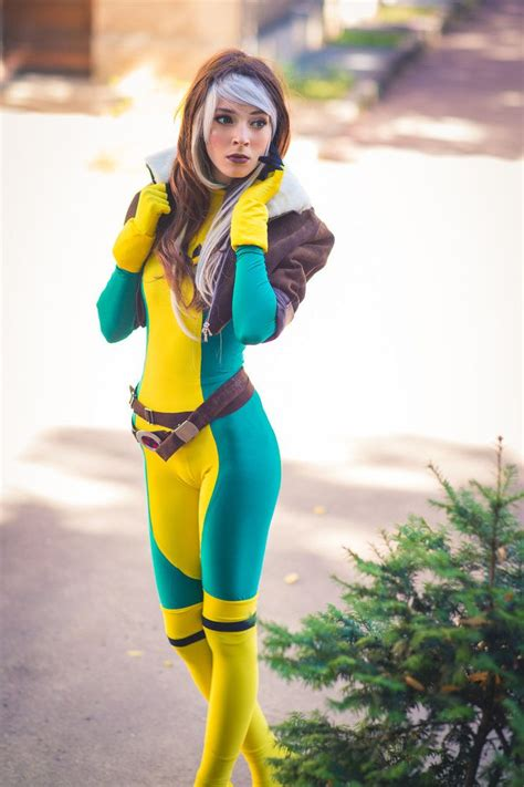 cosplay rogue marvel deviantart 3d awesome rogues jessica nigri psylocke cosplayer phoenix dark comic james