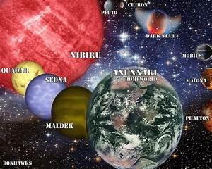 Nibiru Solar System by Donell Hawks - Photoshop Creative