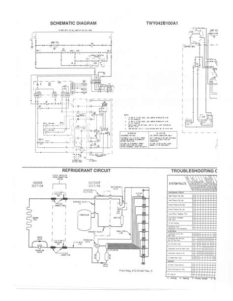 trane commercial air handler wiring diagram wiring library